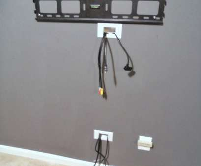 running electrical wire through finished walls Decorating Cents: Wall Mounted TV, Hiding, Cords, Home Running Electrical Wire Through Finished Walls Fantastic Decorating Cents: Wall Mounted TV, Hiding, Cords, Home Images
