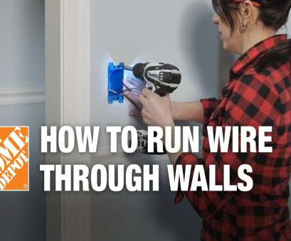 running electrical wire through finished walls How to Run/Fish Electrical Wire Through Walls & Ceilings Running Electrical Wire Through Finished Walls Best How To Run/Fish Electrical Wire Through Walls & Ceilings Ideas