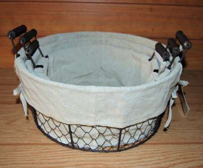 rustic wire mesh baskets Round Rustic Wire Mesh Baskets with Fabric Liners, Ear Handles Rustic Wire Mesh Baskets Popular Round Rustic Wire Mesh Baskets With Fabric Liners, Ear Handles Collections