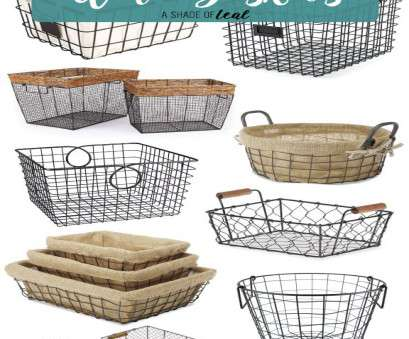 rustic wire mesh baskets Where to find 13 Amazing Rustic Farmhouse Wire Baskets Rustic Wire Mesh Baskets Fantastic Where To Find 13 Amazing Rustic Farmhouse Wire Baskets Ideas