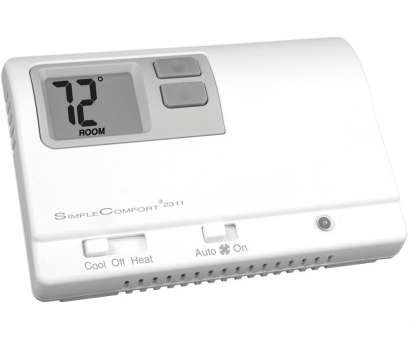 rv comfort zc thermostat wiring diagram SimpleComfort® non-programmable thermostat with backlit display, two-stage heat/single Rv Comfort Zc Thermostat Wiring Diagram Perfect SimpleComfort® Non-Programmable Thermostat With Backlit Display, Two-Stage Heat/Single Ideas