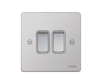 schneider 2 way switch wiring Schneider Electric Ultimate, Profile 2-Gang 2-Way 16AX Light Switch Polished Chrome, Insert Schneider 2, Switch Wiring Perfect Schneider Electric Ultimate, Profile 2-Gang 2-Way 16AX Light Switch Polished Chrome, Insert Images
