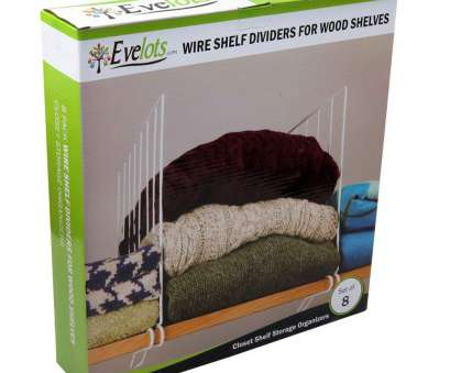 shelf dividers for wire shelves Amazon.com: Evelots, Of 8 Closet Shelf Dividers, Wooden Shelving, Wire Design, White: Home & Kitchen Shelf Dividers, Wire Shelves Top Amazon.Com: Evelots, Of 8 Closet Shelf Dividers, Wooden Shelving, Wire Design, White: Home & Kitchen Galleries
