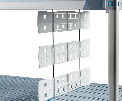 shelf dividers for wire shelves Metro MD24-24 Shelf Divider, Open Grid & Wire Shelves -, x 24