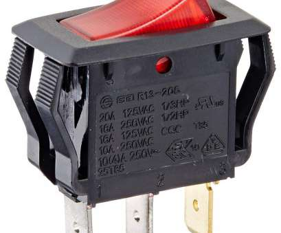 shop vac toggle switch wiring Amazon.com: Rocker Switches, On, Circut Function, SPST, 15/7.5 amps at 125/250 VAC, 0.625