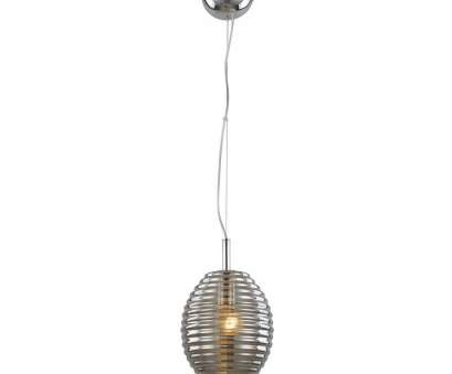 shorten wire pendant light Bel, Lighting 1-Light Height Polished Chrome Pendant with Smoke, Hive Glass Shorten Wire Pendant Light Brilliant Bel, Lighting 1-Light Height Polished Chrome Pendant With Smoke, Hive Glass Collections