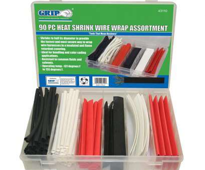 shrink wrap for electrical wires Amazon.com: Grip 90 Piece Heat Shrink Wire Wrap Assortment: Home Improvement Shrink Wrap, Electrical Wires Perfect Amazon.Com: Grip 90 Piece Heat Shrink Wire Wrap Assortment: Home Improvement Photos