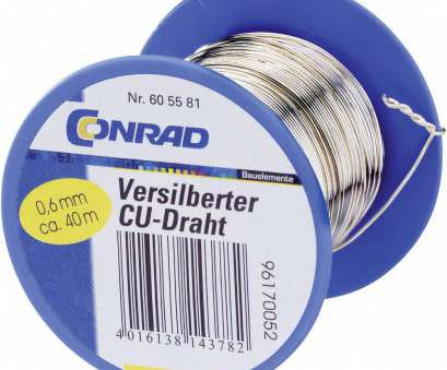 silver plated copper electrical wire Conrad Silver Plated Copper Wire, 0.8mm, 22 mN/A Reel from Conrad.com Silver Plated Copper Electrical Wire Professional Conrad Silver Plated Copper Wire, 0.8Mm, 22 MN/A Reel From Conrad.Com Photos