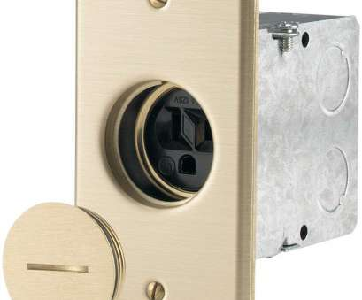 single electrical outlet wiring Eaton 5797-L 125-Volt Industrial Grade Brass Floor Receptacle, 125-Volt, Electrical Outlets, Amazon.com Single Electrical Outlet Wiring Brilliant Eaton 5797-L 125-Volt Industrial Grade Brass Floor Receptacle, 125-Volt, Electrical Outlets, Amazon.Com Galleries