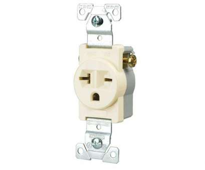 single electrical outlet wiring Eaton Commercial Grade 20, Straight Blade Single Receptacle with Side Wiring, Light Almond Single Electrical Outlet Wiring Brilliant Eaton Commercial Grade 20, Straight Blade Single Receptacle With Side Wiring, Light Almond Solutions