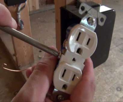 single electrical outlet wiring How to Install an Electrical Outlet Single Electrical Outlet Wiring Most How To Install An Electrical Outlet Solutions