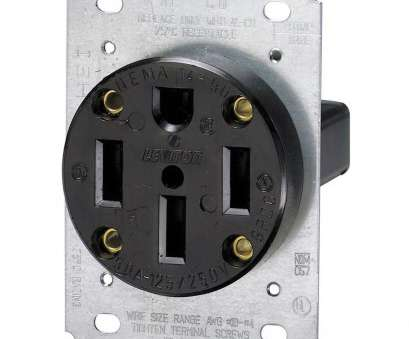 single electrical outlet wiring Leviton 50, Flush Mount Shallow Single Outlet, Black Single Electrical Outlet Wiring Creative Leviton 50, Flush Mount Shallow Single Outlet, Black Solutions