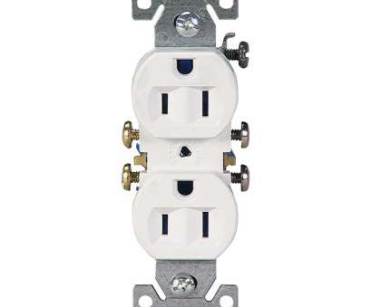 single electrical outlet wiring Shop Eaton 10-Pack 15-Amp 125-Volt White Indoor Duplex Wall Outlet Single Electrical Outlet Wiring Creative Shop Eaton 10-Pack 15-Amp 125-Volt White Indoor Duplex Wall Outlet Galleries
