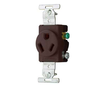 single electrical outlet wiring Shop Eaton Single Receptacle Heavy-Duty 20-Amp 277-Volt Brown at Single Electrical Outlet Wiring Best Shop Eaton Single Receptacle Heavy-Duty 20-Amp 277-Volt Brown At Galleries