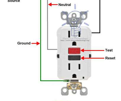 Single Gfci Outlet Wiring Diagram Most 51 Best Gfci Outlet Circuit Diagram Wiring Diagram Rh Magnusrosen, GFI Electrical Plug, Electrical Galleries