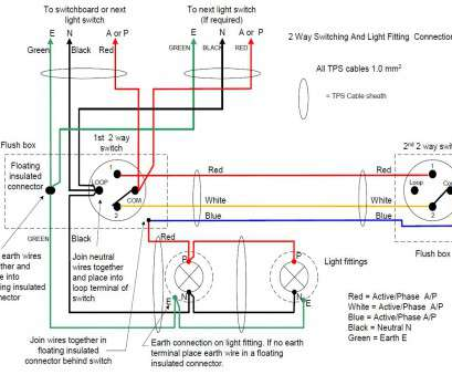Switch Wiring Diagram Bathroom on