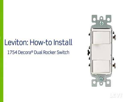 single pole double switch wiring Leviton Presents:, to Install a Decora Combination Device with, Single Pole Switches Single Pole Double Switch Wiring Creative Leviton Presents:, To Install A Decora Combination Device With, Single Pole Switches Galleries