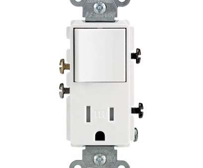 single pole switch with receptacle wiring Wiring Double Outlet Collection-Leviton, T5625, 15, White Single Pole Switch & Single Pole Switch With Receptacle Wiring Simple Wiring Double Outlet Collection-Leviton, T5625, 15, White Single Pole Switch & Collections