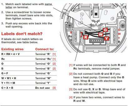 Emerson Digital Thermostat Wiring Diagram  Emerson