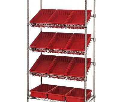 slanted wire shelving ..., Stationary Slanted Wire Shelving with 3.5''H Dividable Grid Containers -, is Slanted Wire Shelving Creative ..., Stationary Slanted Wire Shelving With 3.5''H Dividable Grid Containers -, Is Galleries