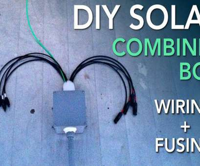 solar combiner box wiring diagram Wiring a Solar Combiner, for an RV Solar Power System Solar Combiner, Wiring Diagram Popular Wiring A Solar Combiner, For An RV Solar Power System Ideas