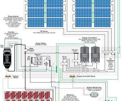 on off grid solar power wiring diagrams