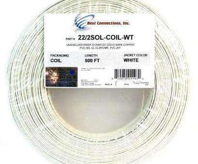 solid copper electrical wire Alarm Wire 22 Gauge 500' Solid Copper Security Cable White UL Listed, Voltage, Amazon.com Solid Copper Electrical Wire Nice Alarm Wire 22 Gauge 500' Solid Copper Security Cable White UL Listed, Voltage, Amazon.Com Images