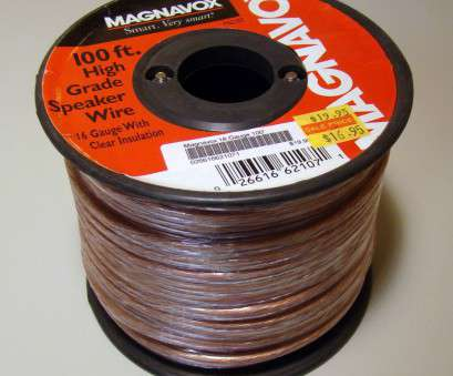 speaker wire 16 gauge vs 18 New Magnavox/Philips, ft. 16 Gauge High Grade Speaker Wire- Clear PH62107 26616821075, eBay Speaker Wire 16 Gauge Vs 18 Cleaver New Magnavox/Philips, Ft. 16 Gauge High Grade Speaker Wire- Clear PH62107 26616821075, EBay Collections