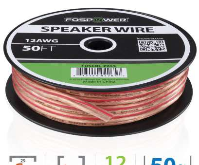 speaker wire 6 gauge FosPower Premium Oxygen Free 12AWG Speaker Wire, 50ft 0 Speaker Wire 6 Gauge Best FosPower Premium Oxygen Free 12AWG Speaker Wire, 50Ft 0 Galleries