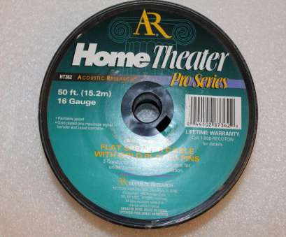 speaker wire gauge home theater AR HT362 Flat Speaker Cable Wire 50, 16 Gauge With 8 Gold Plated, Connects, eBay Speaker Wire Gauge Home Theater Perfect AR HT362 Flat Speaker Cable Wire 50, 16 Gauge With 8 Gold Plated, Connects, EBay Solutions