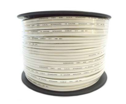 speaker wire gauge home theater Audiopipe 12 Ga Gauge 250' White Speaker Wire Home Theater, Audio Stereo Speaker Wire Gauge Home Theater Cleaver Audiopipe 12 Ga Gauge 250' White Speaker Wire Home Theater, Audio Stereo Solutions