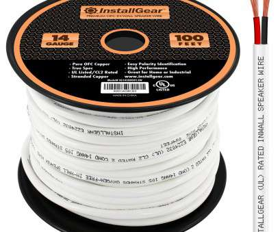speaker wire gauge really matter Amazon.com: InstallGear 14 Gauge, 100ft In Wall Speaker Wire, 99.9% Oxygen-Free Copper, UL Listed/CL2 Rated: Electronics 15 Professional Speaker Wire Gauge Really Matter Galleries