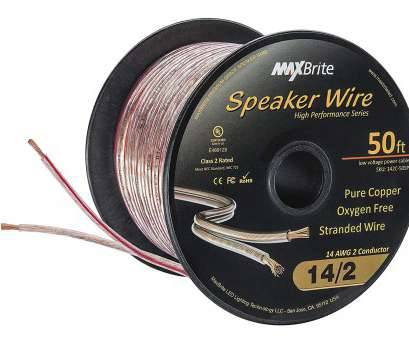 speaker wire gauge really matter Amazon.com: High Performance 14 Gauge Speaker Wire, Oxygen Free Pure Copper, UL Listed Class 2, Feet Spool): Home Audio & Theater Speaker Wire Gauge Really Matter Cleaver Amazon.Com: High Performance 14 Gauge Speaker Wire, Oxygen Free Pure Copper, UL Listed Class 2, Feet Spool): Home Audio & Theater Solutions