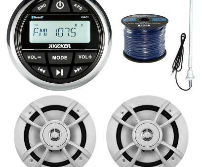 speaker wire gauge 100 watts ... Boat Yacht Gauge Style AM/FM Radio Stereo Receiver Bundle Combo With 2x Kenwood 6.5-Inch, Watt Speaker + Enrock Radio Antenna + 50 Feet Speaker Wire Speaker Wire Gauge, Watts Brilliant ... Boat Yacht Gauge Style AM/FM Radio Stereo Receiver Bundle Combo With 2X Kenwood 6.5-Inch, Watt Speaker + Enrock Radio Antenna + 50 Feet Speaker Wire Ideas
