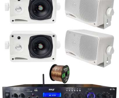 speaker wire gauge 200 watts Get Quotations · Pyle Home Theater Amplifier Audio Bluetooth MP3/USB/SD/AUX/FM Receiver Speaker Wire Gauge, Watts Top Get Quotations · Pyle Home Theater Amplifier Audio Bluetooth MP3/USB/SD/AUX/FM Receiver Pictures