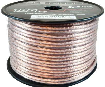 speaker wire gauge 100 watts GLS Audio Premium 12 Gauge, Feet Speaker Wire, True 12AWG Speaker Cable 100ft Clear Jacket Speaker Wire Gauge, Watts Top GLS Audio Premium 12 Gauge, Feet Speaker Wire, True 12AWG Speaker Cable 100Ft Clear Jacket Collections
