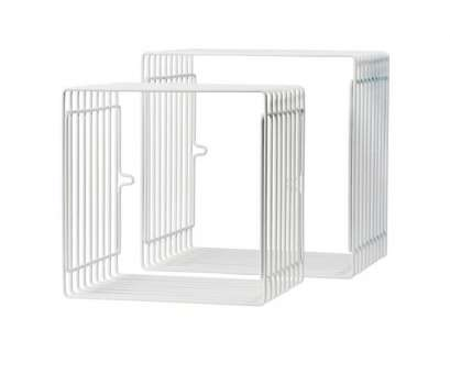 square wire shelving Done by Deer, Wire Shelf Square 2 pcs., white Square Wire Shelving Top Done By Deer, Wire Shelf Square 2 Pcs., White Collections