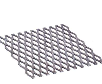 stainless steel wire mesh 1 x 2 Expanded Metal, Stainless Steel 1/2