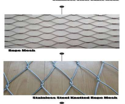 stainless steel wire mesh 1 x 2 The standard stainless steel wire cable diameter includes 1/8