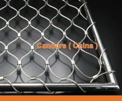 stainless steel wire mesh for aviaries Diamond Ferruled Stainless Steel Wire Rope Cable Balustrade Railing Infill Mesh Stainless Steel Wire Mesh, Aviaries Fantastic Diamond Ferruled Stainless Steel Wire Rope Cable Balustrade Railing Infill Mesh Collections