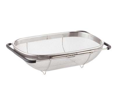 stainless steel wire mesh baskets with lid Polder Stainless Steel Mesh Sink Basket Stainless Steel Wire Mesh Baskets With Lid Fantastic Polder Stainless Steel Mesh Sink Basket Collections
