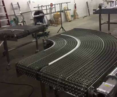 stainless steel wire mesh belt conveyors Tight Radius Turn Conveyor Stainless Steel Stainless Steel Wire Mesh Belt Conveyors Top Tight Radius Turn Conveyor Stainless Steel Photos