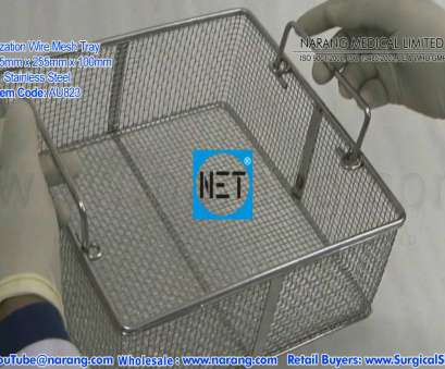 stainless steel wire mesh buyer email Sterilization Wire Mesh Tray, Autoclaves, S.S. Item Code: AU823 18 Simple Stainless Steel Wire Mesh Buyer Email Solutions