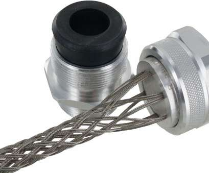 stainless steel wire mesh cord grip 1-1/2