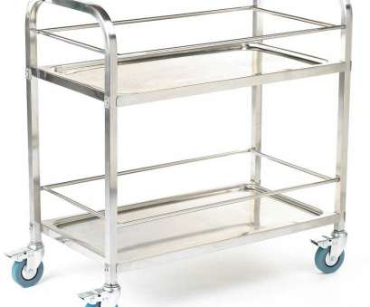stainless steel wire mesh trolley 304 grade Stainless Steel Shelf Trolleys / Carts 100kg capacity 11 Cleaver Stainless Steel Wire Mesh Trolley Images