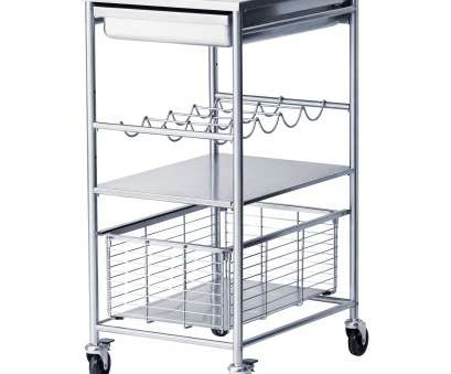stainless steel wire mesh trolley GRUNDTAL Kitchen trolley, stainless steel Stainless Steel Wire Mesh Trolley Most GRUNDTAL Kitchen Trolley, Stainless Steel Solutions