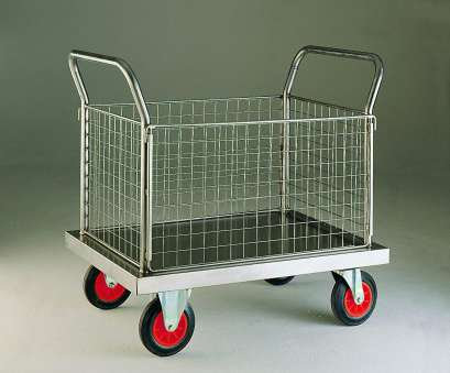 stainless steel wire mesh trolley Stainless Steel Four Sided Trolley, Platform Trolleys, Northern Stainless Steel Wire Mesh Trolley New Stainless Steel Four Sided Trolley, Platform Trolleys, Northern Collections
