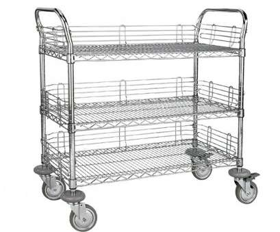 stainless steel wire mesh trolley Storage cart / steel / wire mesh platform, levels MZ40xx series, GmbH, Experts in Material Handling Stainless Steel Wire Mesh Trolley Cleaver Storage Cart / Steel / Wire Mesh Platform, Levels MZ40Xx Series, GmbH, Experts In Material Handling Pictures