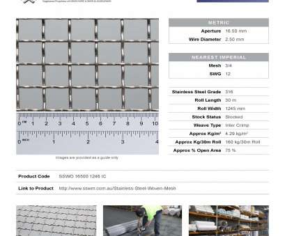stainless steel wire mesh tullamarine Product data sheets, live on, website!, Stainless Steel Stainless Steel Wire Mesh Tullamarine Simple Product Data Sheets, Live On, Website!, Stainless Steel Ideas