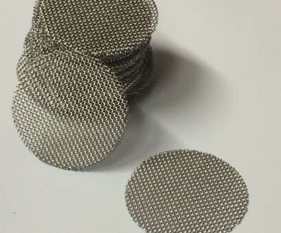 stainless steel wire mesh usa 50 Count Stainless Steel T304 Wire Mesh Screen Filter Discs 3/4